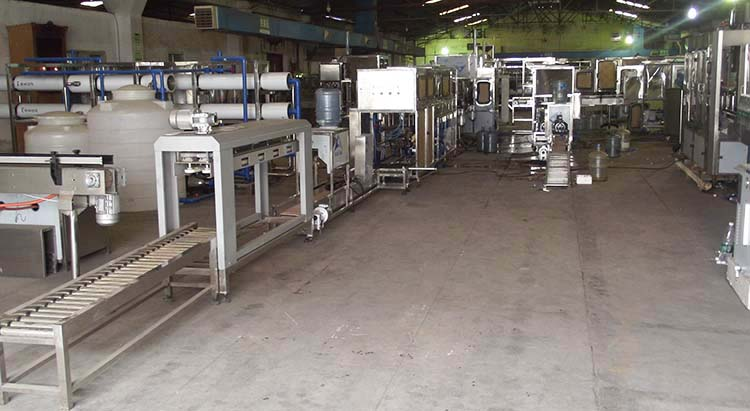 5 Gallon filling machine  workshop