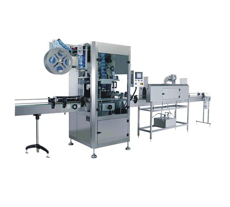 Automatic Sleeve Labeling Machine