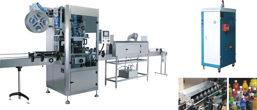 Automatic Shrink Sleeve Labeling Machine With Electrical Heating Shrink Oven