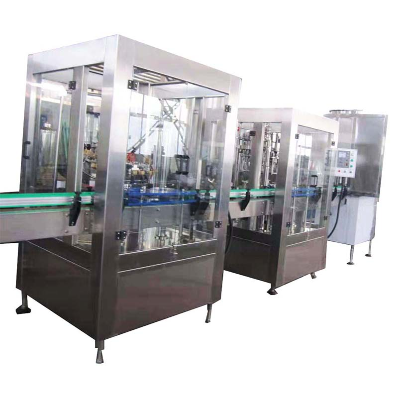 filling machine with cover