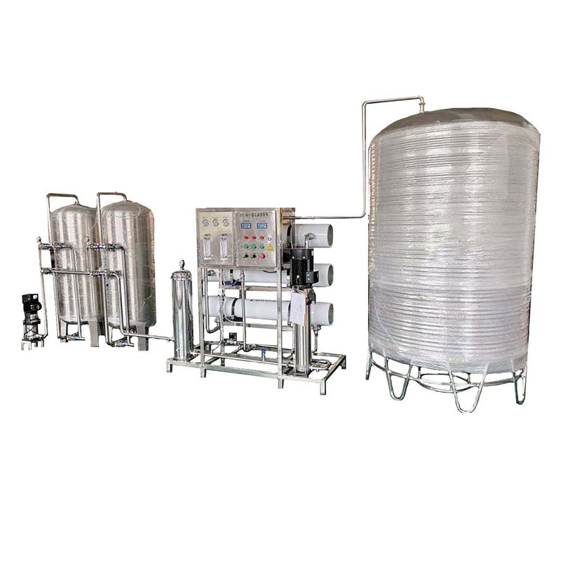 3000L/H RO system with water tank