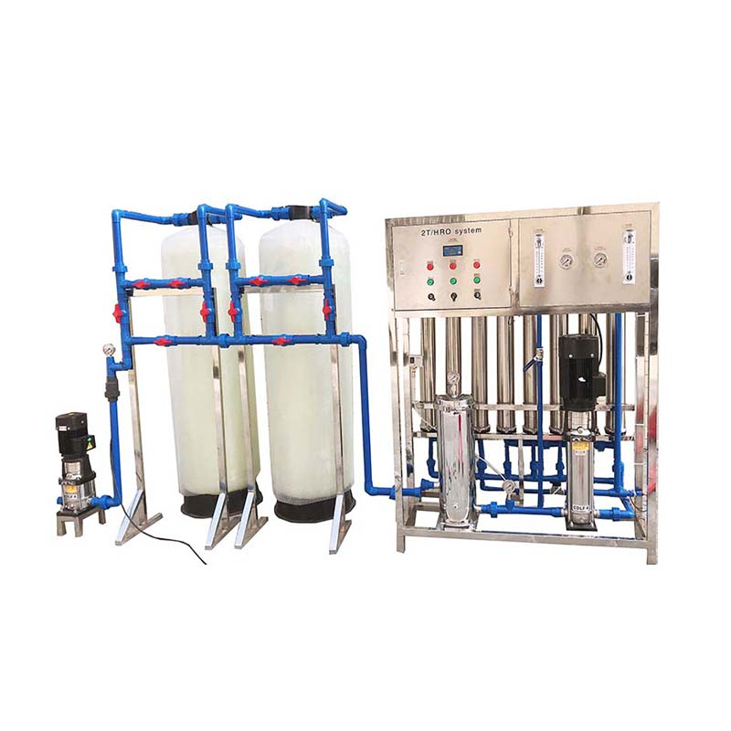 2000L/H drinking water treatment machine