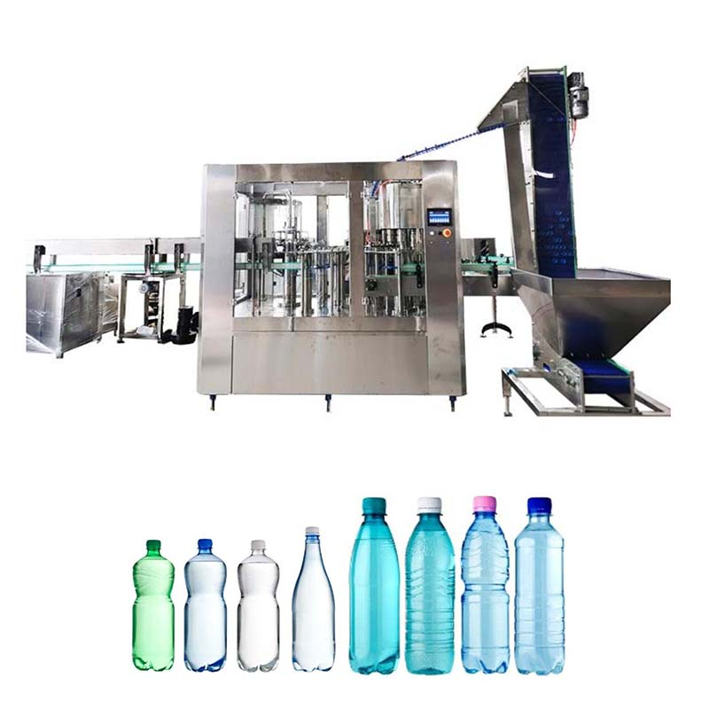 Washing Filling and Capping Machine
