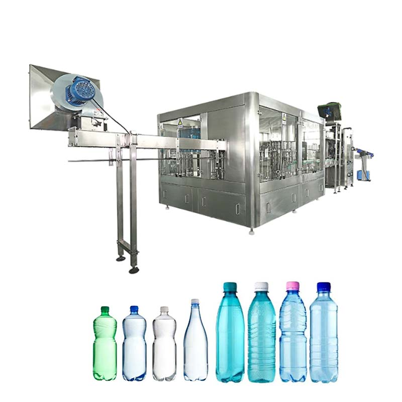 Beverage water filling machine