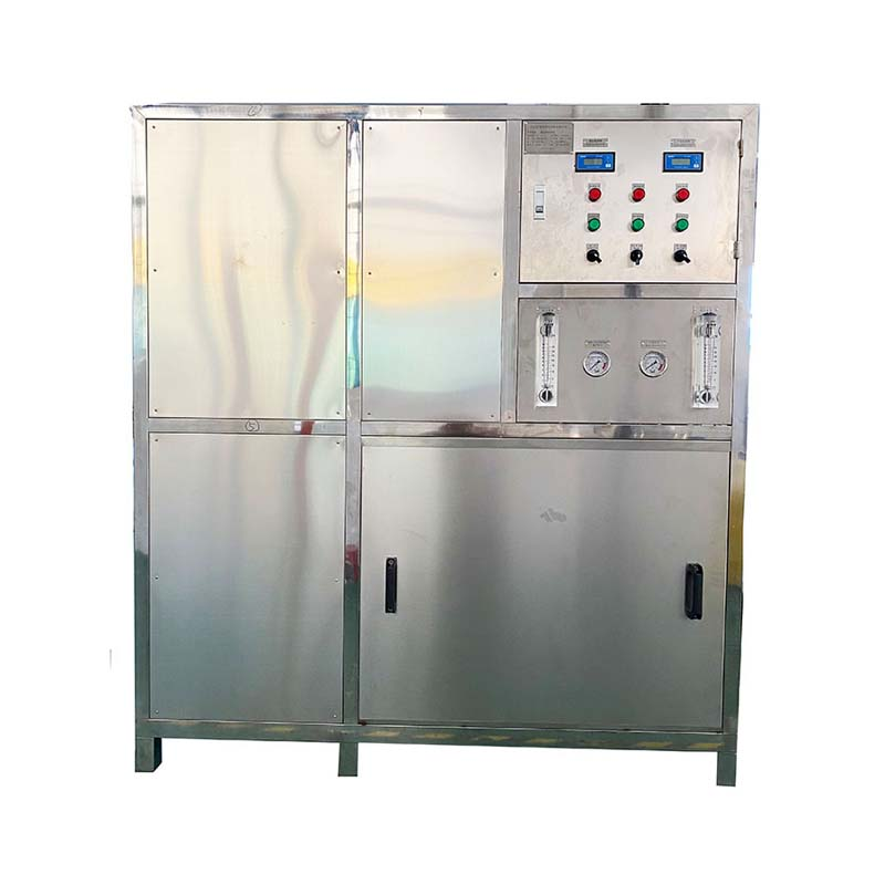 Water treatment system machine