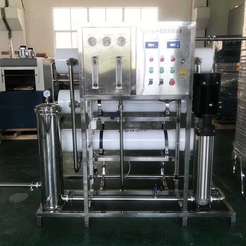3T/H RO water treatment system