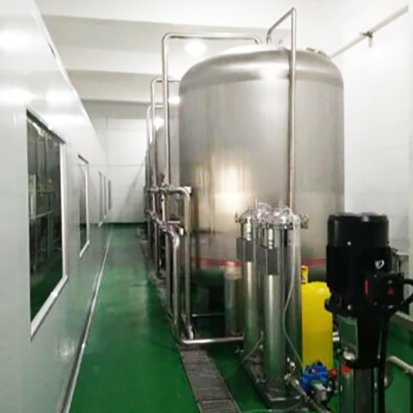 GMP Cleanroom for Water Treatment Plant