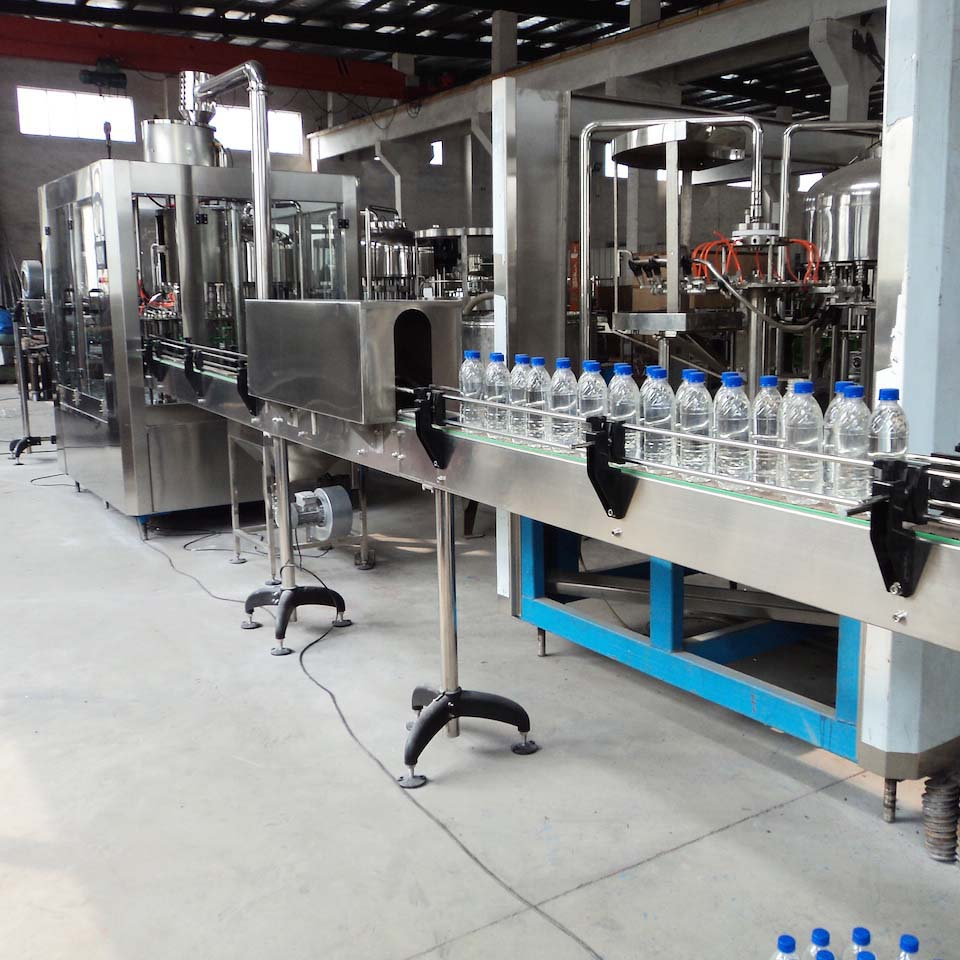 Bottled water filling machine