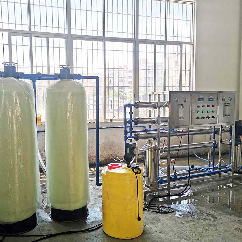 2000L/H RO water treatment plant
