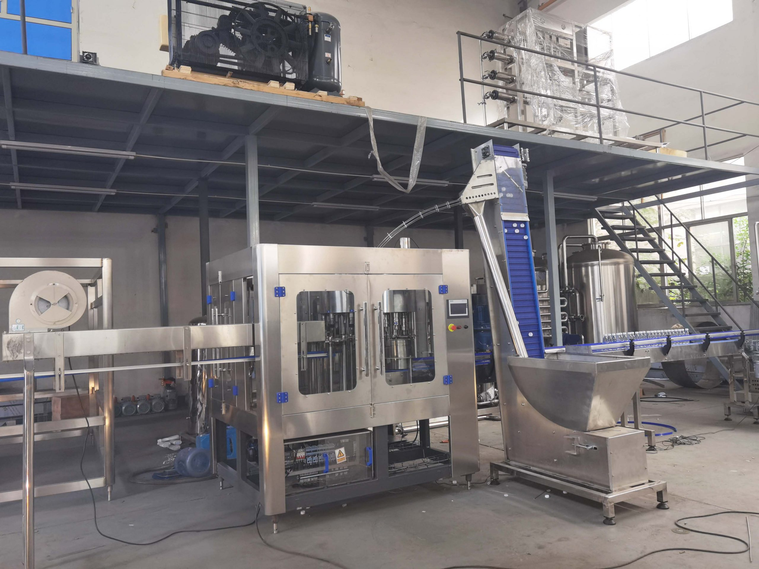CGF8-8-3 3 in 1 Washing, Filling and Capping Machine