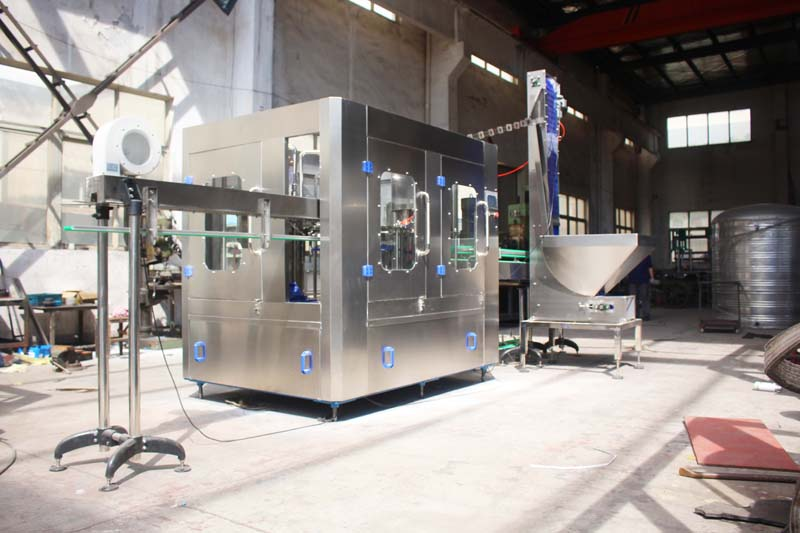 3 in 1 Automatic Washing, Filling, Capping  machine