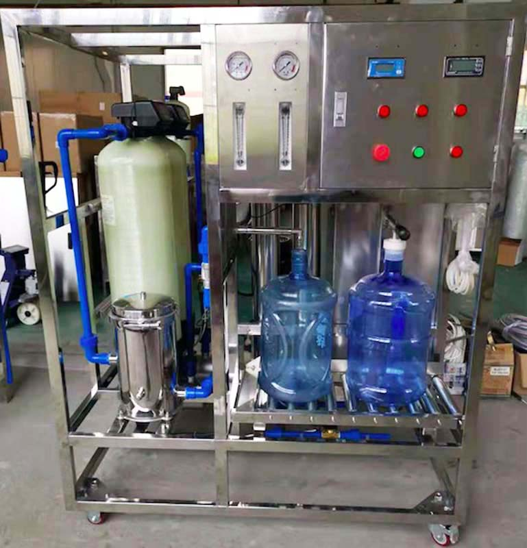 RO system: RO system: Quartz sand filter+Activated carbon filter+PP filter+RO Membranes+Ozone Generator