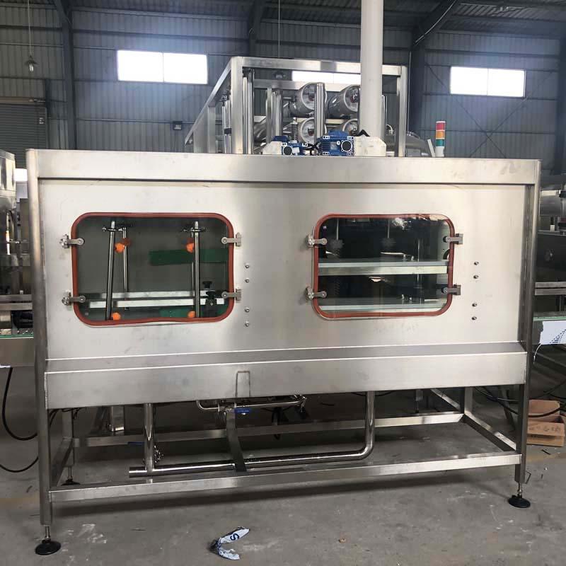 Capping unit (cap loading, washing, feeding, pressing)