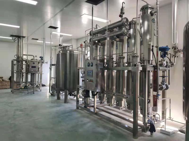6000L RO+EDI+Purified water injection system